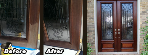 Handyman_services_front_door_refinishing